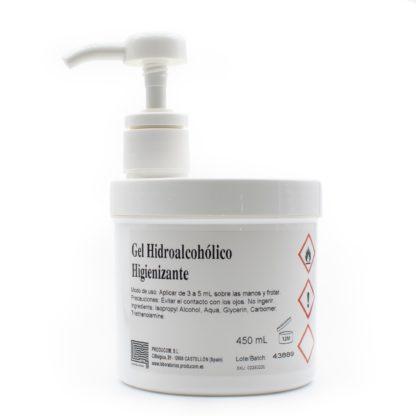 Gel hidroalcohólico higienizante