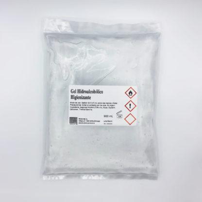 Gel hidroalcoholico 900 mL bolsa
