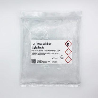 Gel hidroalcoholico bolsa 450 mL